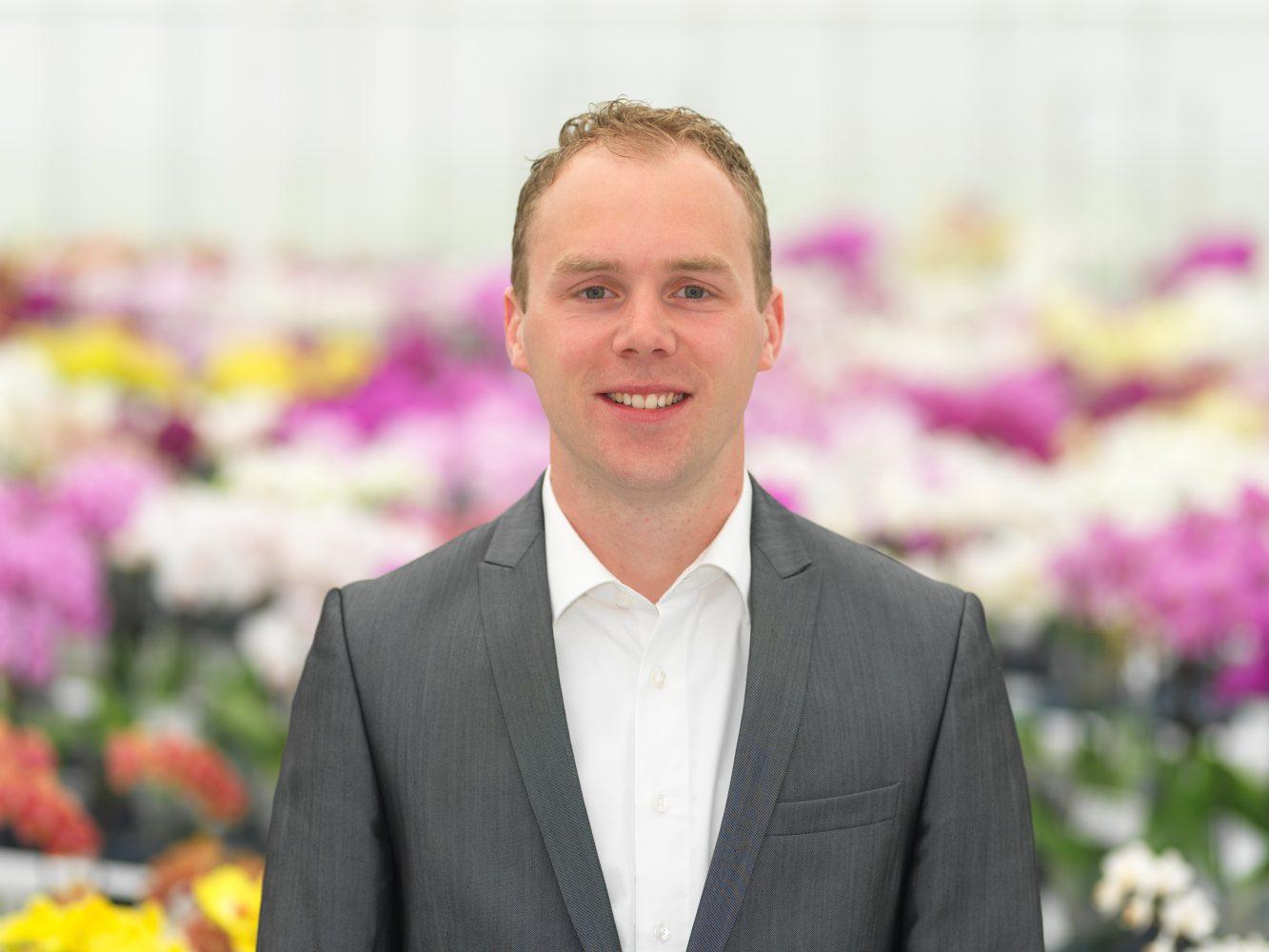 Gert Hoogendoorn, Accountmanager Orchideeën
