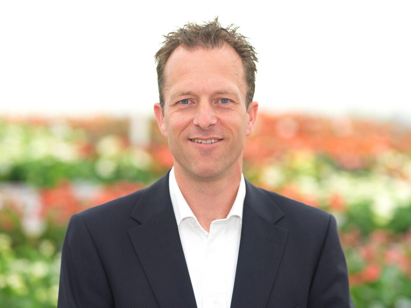 Hans Prins, Sales- & Productmanager snijanthurium