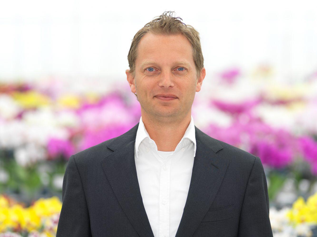 Joost Hendriks, Accountmanager Orchideeën