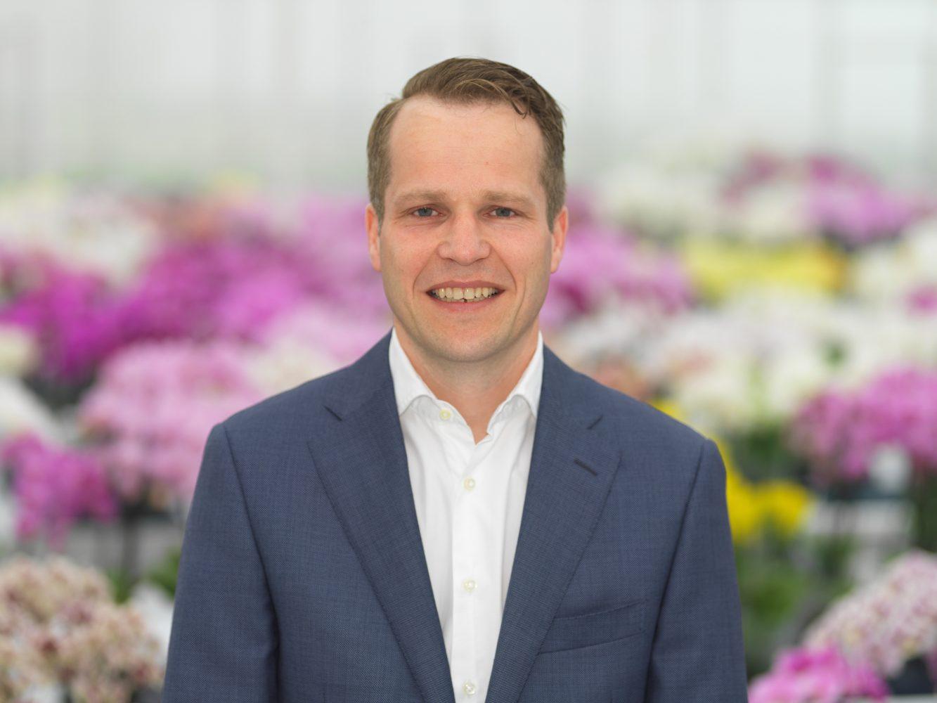 Robert Kuijf, Productmanager Orchideeën