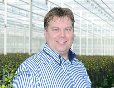 Ed Komijn, Orchid advisor and technical climate specialist