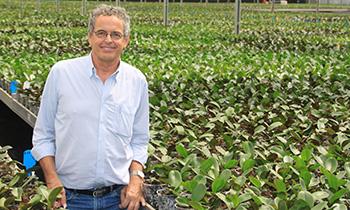Interview with Frans van de Weijer